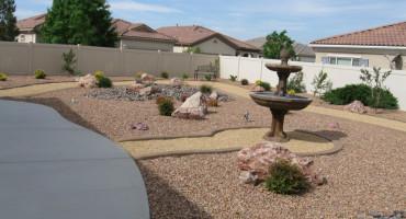 Backyard Landcape